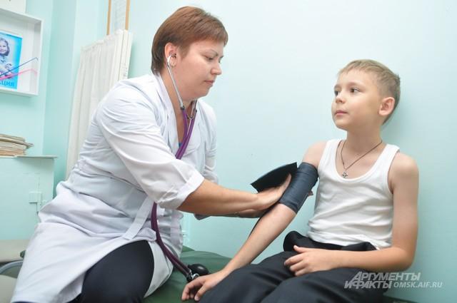 медосмотр в школе, кардиология для школьников