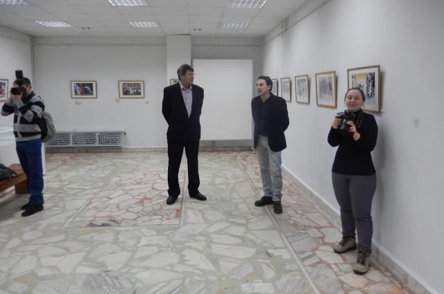 выставка Валерия Железнякова