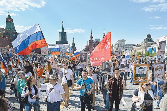 Далеко не все победители могли пройти по Красной площади в 45-м. Но сегодня могли все, даже те, кто не дожил...