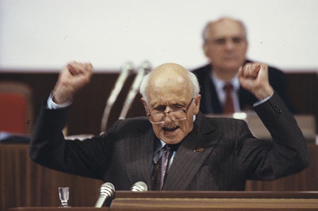 Сахаров на Съезде народных депутатов СССР (май-июнь 1989 года).