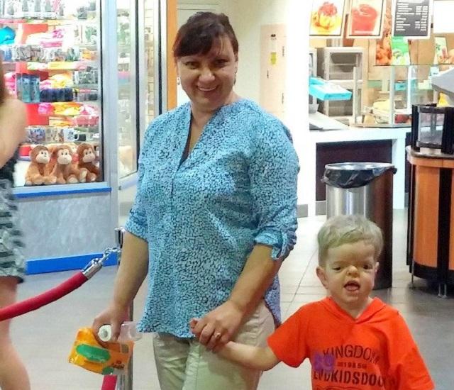 Из-за болезни Денис Чубанюк не пойдет 1 сентября в школу.