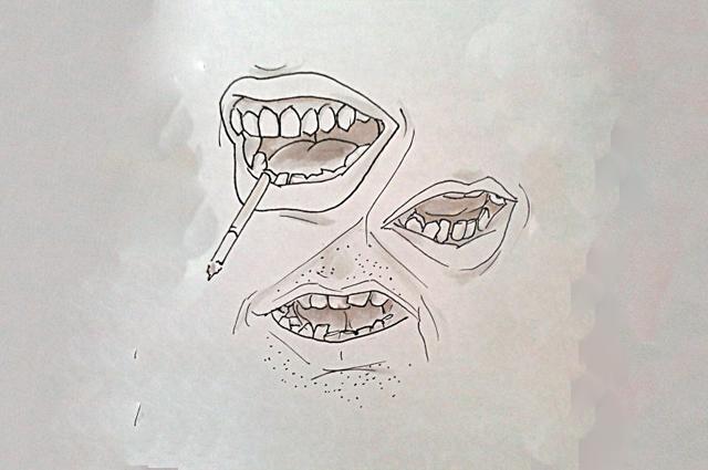 С помощью своей скульптуры Шумкова хочет подтолкнуть людей на поход к стоматологу.