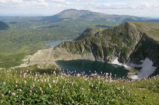 Озеро Малое Рыбное.