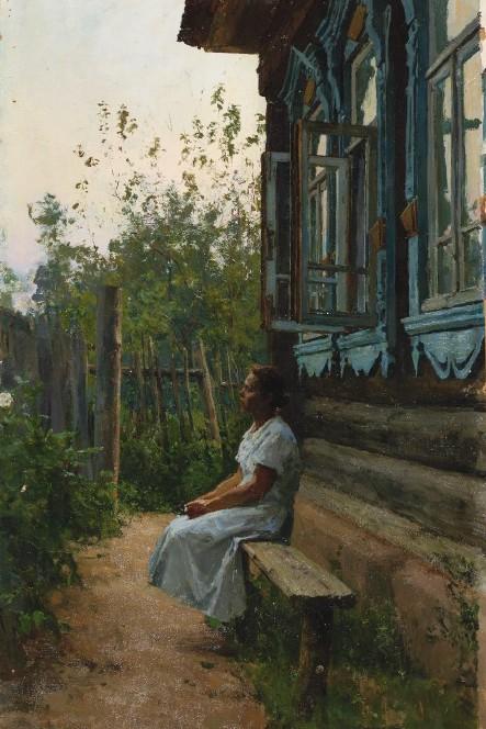 Алексей Грицай, картина «Летним вечером».