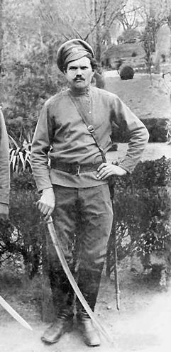 Бравый казак Фёдор Подтёлков