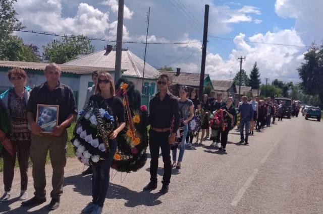 Похороны Натальи Дмитриевой.