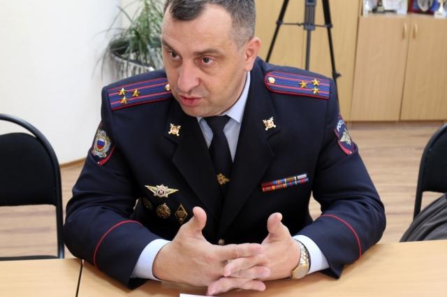 начальник управления уголовного розыска УМВД Тюменской области Андрей Козлов.