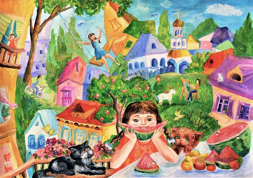 картина Воробьевой
