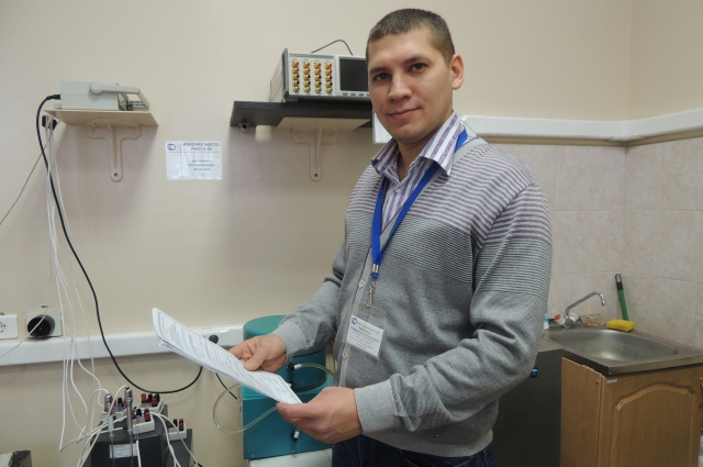 инженер по метрологии 1 категории отдела теплотехнических средств измерений ФБУ «Самарский ЦСМ» Александр Теребинов.