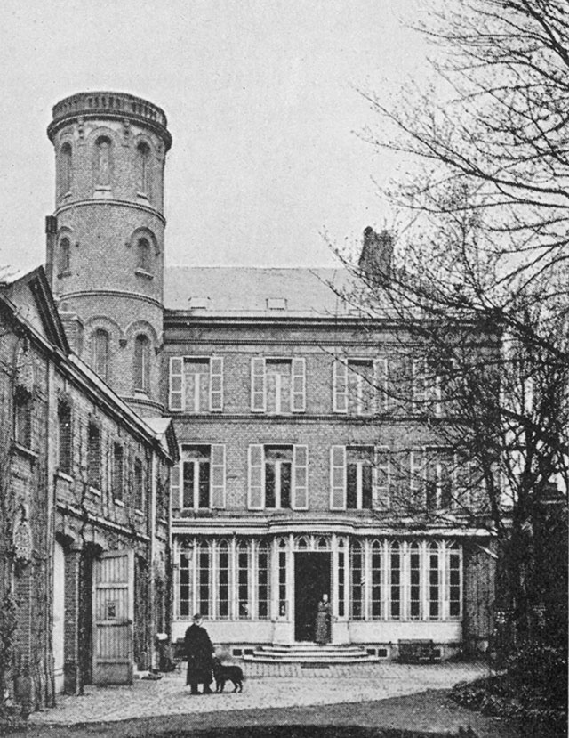 Дом Жюля Верна в Амьене.