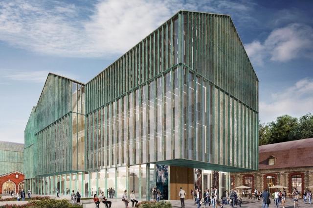 Здание должны сдать в третьем квартале 2023 года.