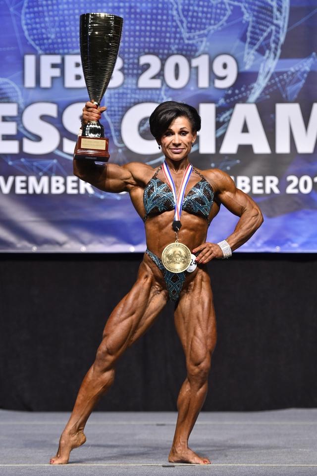 Наталья девять раз становилось чемпионкой мира.