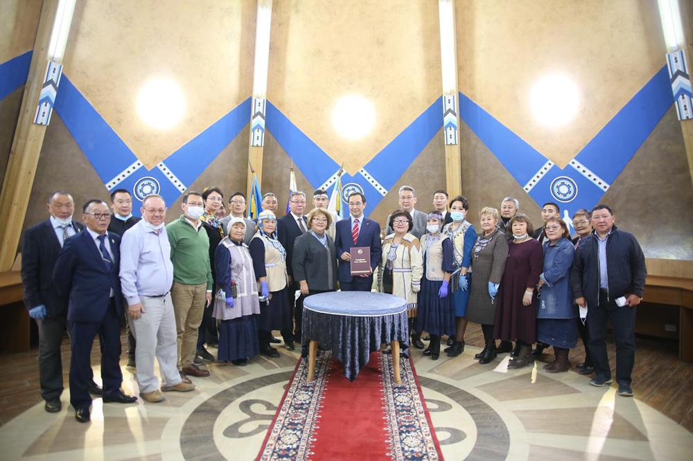 Администрация  республики Саха (Якутия)