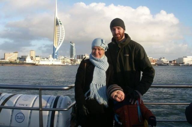 Лариса познакомилась с отцом младшего сына Ианом Кэттлуэллом в спортклубе.