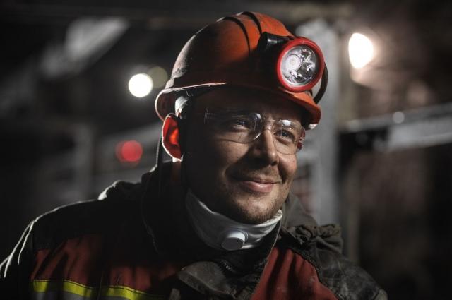 Сергей Кичигин – электрослесарь подземный шахты «Ерунаковская-VIII».