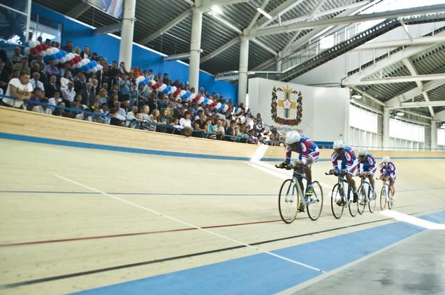 Рекорды молодого велотрека постоянно обновляются.