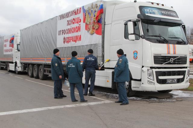 Колонна под Ростовом готовилась к автомаршу четыре дня