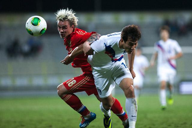 Товарищеский матч Россия Южная Корея