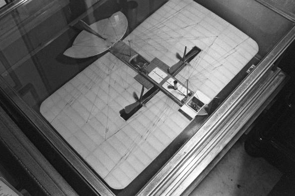 Модель самолета, изобретенного и построенного на собственные средства Александром Можайским