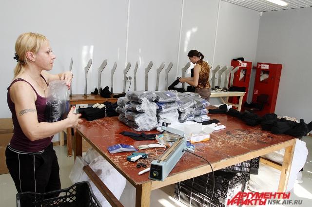 Продажи носков у швейных фабрик к 23 февраля увеличивается.