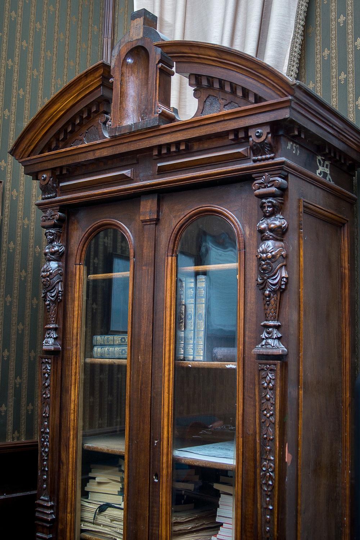 Шкаф, в котором могло храниться дело Сталина.