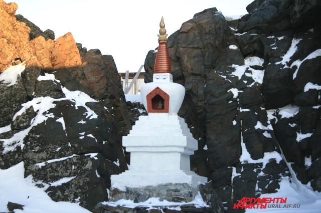 Храм Шад Тчуп Линг существует более 22 лет.