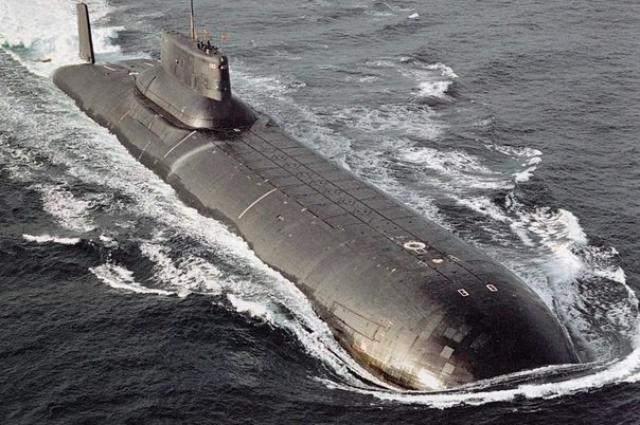 Самая большая в мире стратегическая подводная лодка класса «Акула».