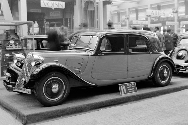 Citroen. Париж, 1934 год