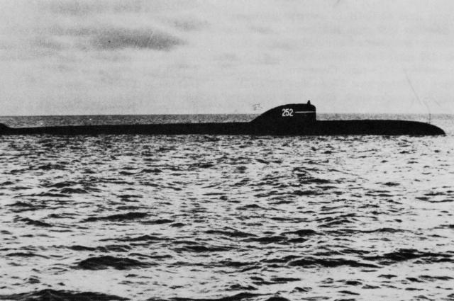 Атомная подводная лодка проекта 627А.