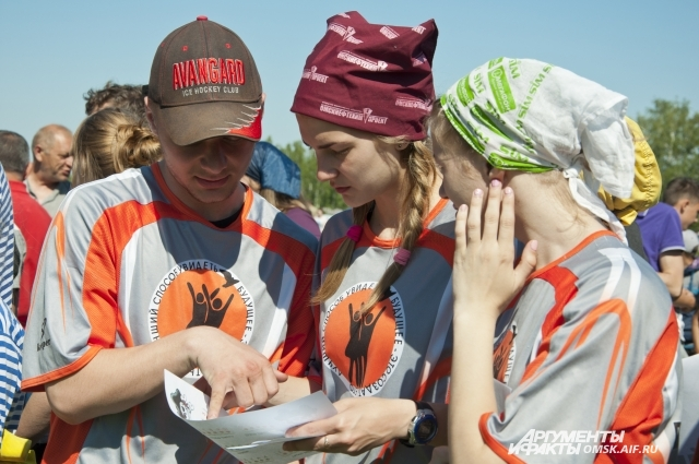 Подростки с удовольствием участвовали в пиратском квесте.