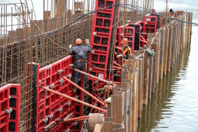 Реконструкция моста Высокий.