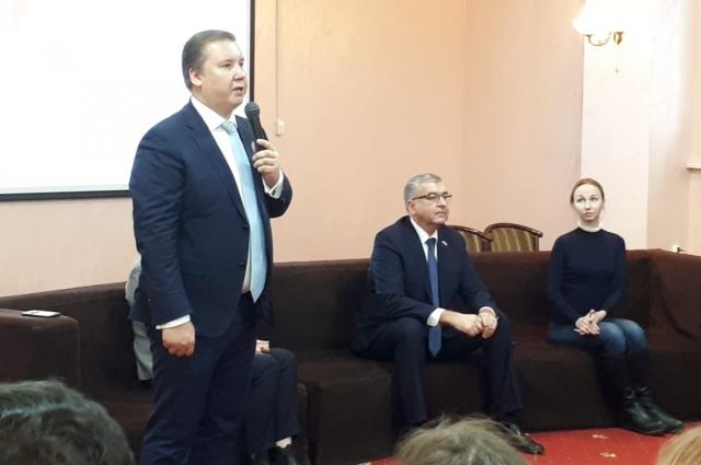 Михаил Борисов - координатор партийного проекта.