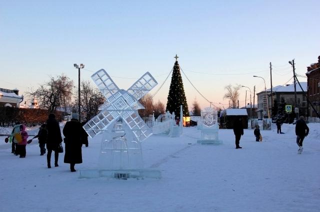 Ледовый городок, Ялуторовск.