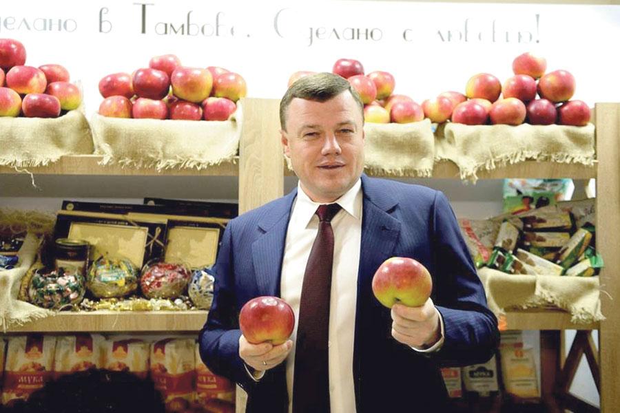 Губернатор Александр Никитин: «Наливные яблоки – гордость и визитная карточка нашего региона».