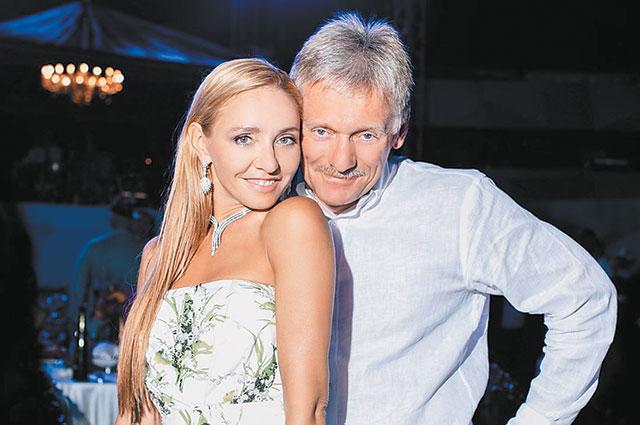 С мужем Дмитрием Песковым.
