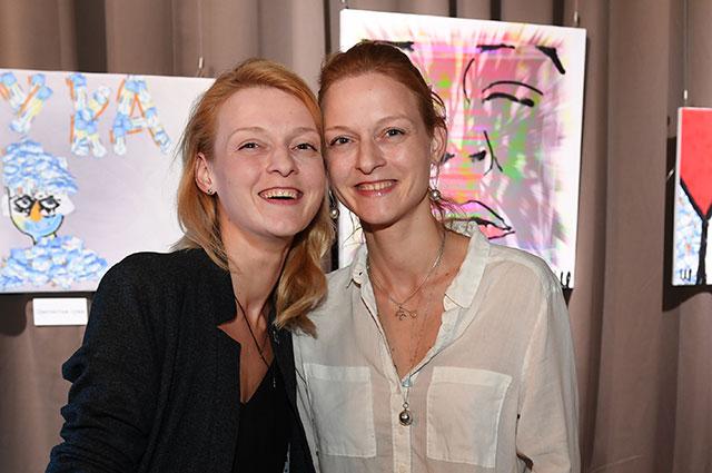 Актрисы Екатерина и Дарья Носик.