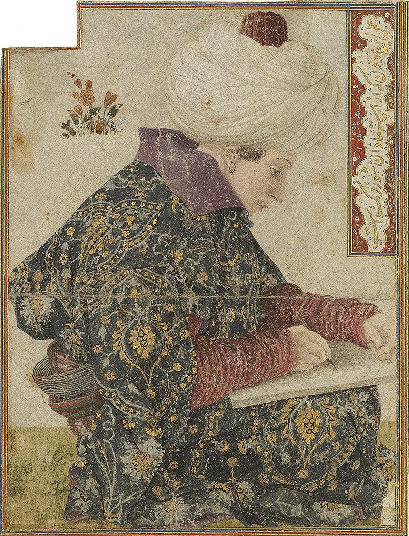 Беллини Джентиле. Сидящий писарь.