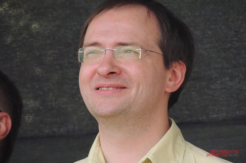 Министр культуры Владимир Мединский на открытии фестиваля