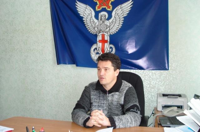 Валерий Голованов в бытность свою главой посёлка