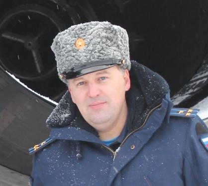 Евгений Аверьянов, гвардии полковник, командир полка.