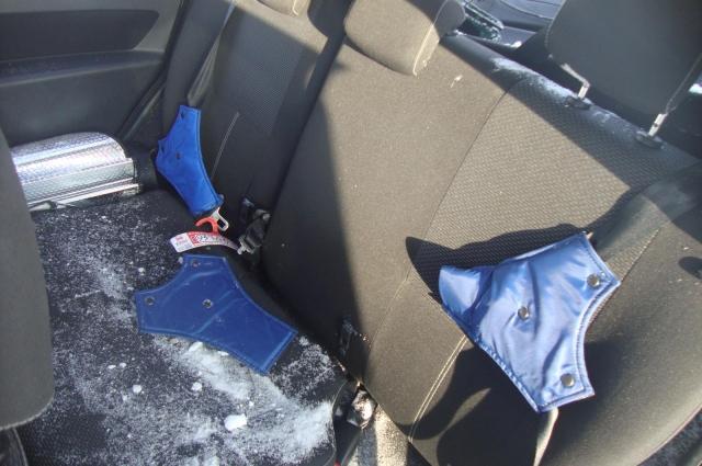Во время происшествия дети были пристегнуты удерживающим устройством ФЕСТ.