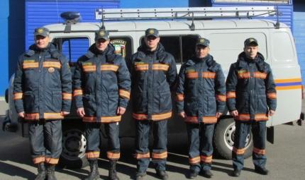 Спасатели, принявшие участие в поисках.