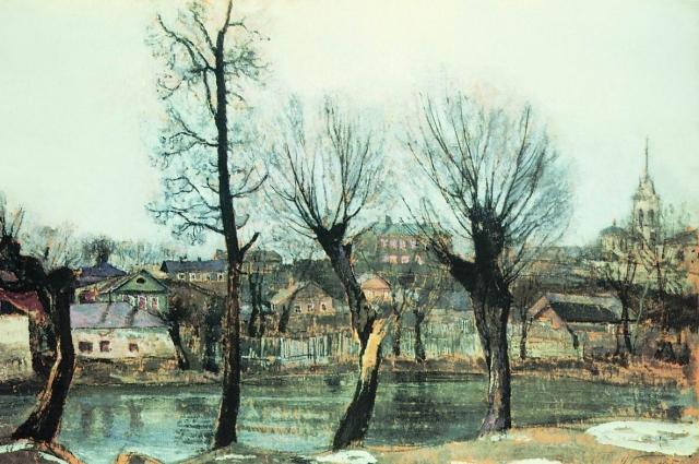 Псков. Ветлы. 1913