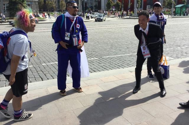 Японские болельщики культурные, а вот журналисты - не все.