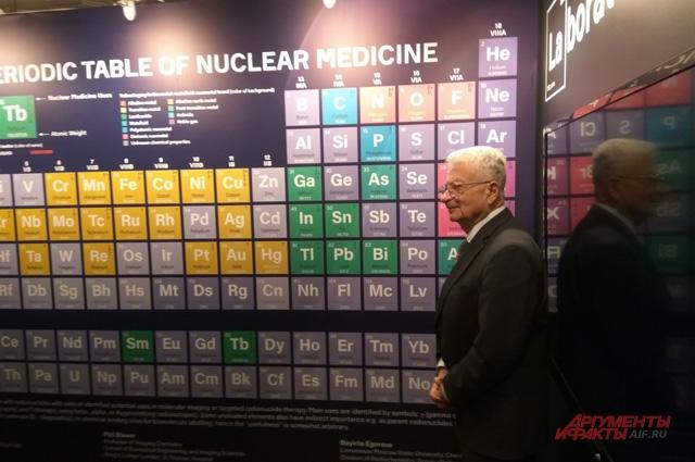 Академик Оганесян - единственный из ныне здравствующих учёных, чьим именем назван химический элемент.