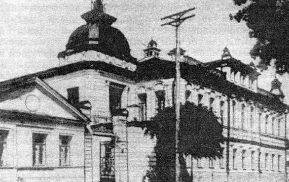 Дом купцов Клочковых в Воронеже.