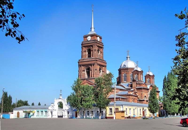 Спасово-Преображенский собор в Бутурлиновке.