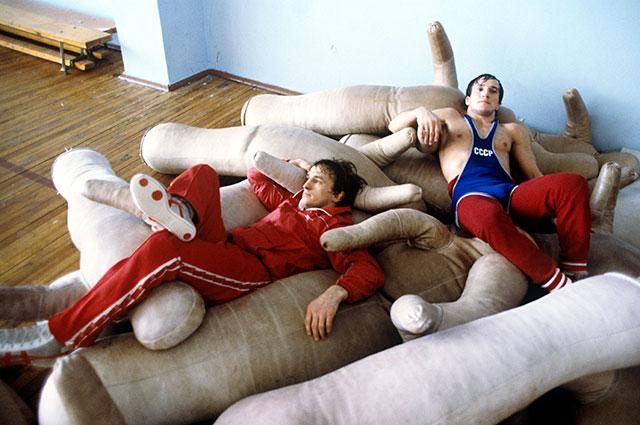 Трехкратные чемпионы мира по вольной борьбе, победители Олимпиады-80 братья-близнецы Анатолий и Сергей Белоглазовы.