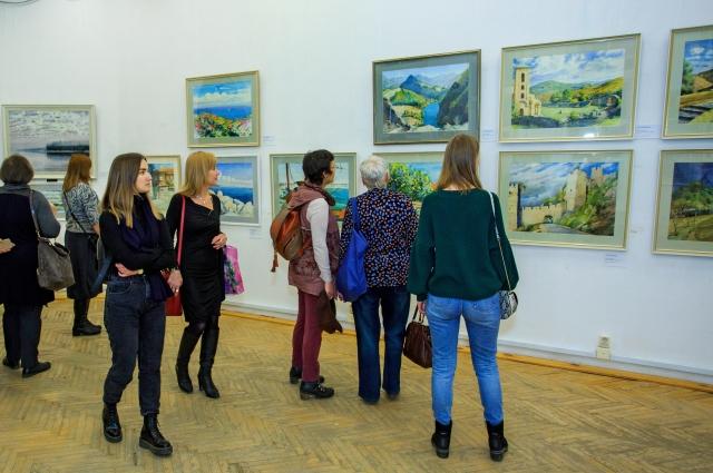 Гости выставки были восхищены увиденным.