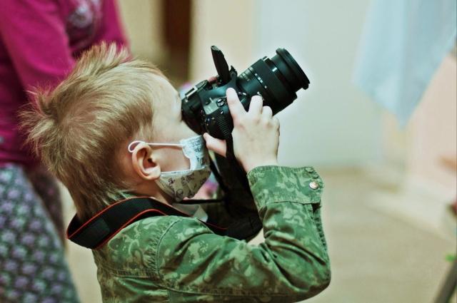 Есть у фонда «Берегиня» и фотопроект для детей - «Я живу».